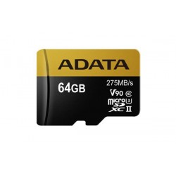 64 GB microSDHC/SDXC UHS-II karta A-DATA class 10 Ultra High Speed AUSDX64GUII3CL10-C