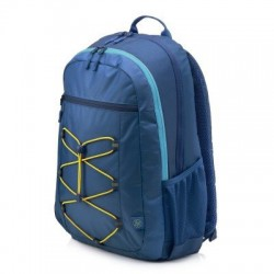 HP 15.6 Active Backpack (Navy Blue/Yellow) 1LU24AA#ABB