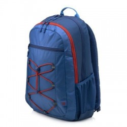 HP 15.6 Active Backpack (Marine Blue/Coral Red) 1MR61AA#ABB