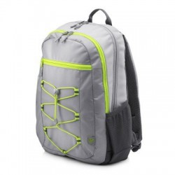 HP 15.6 Active Backpack (Grey/Neon Yellow) 1LU23AA#ABB