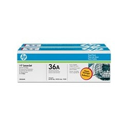 HP Toner  CB436AD black Dual Pack