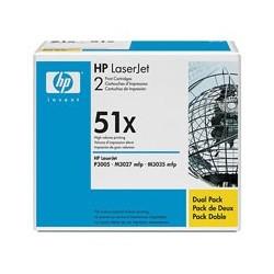 HP Toner Q7551XD black No.51A dualpack