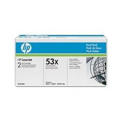HP Toner Q7553XD black No.53X dualpack