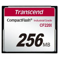 Transcend 256MB INDUSTRIAL TEMP CF220I CF CARD (Fixed disk and UDMA5) TS256MCF220I