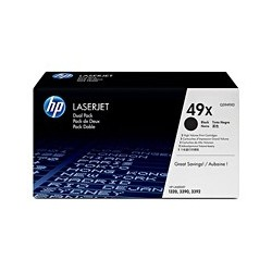 HP Toner Q5949XD black 1320 2x6K