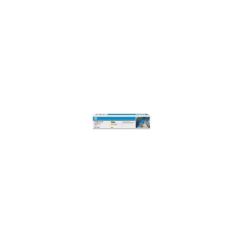 HP Toner CE312A Yellow HP126A