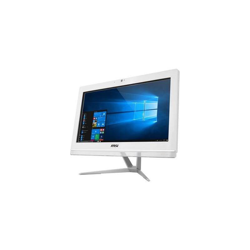"""MSI AIO Pro 20EX 7M-005EU NT/i3-7100 kabylake/4GB/1TB/DVD/RW/HD Graphics 630/19,5"""" HD/white/Win 10"""
