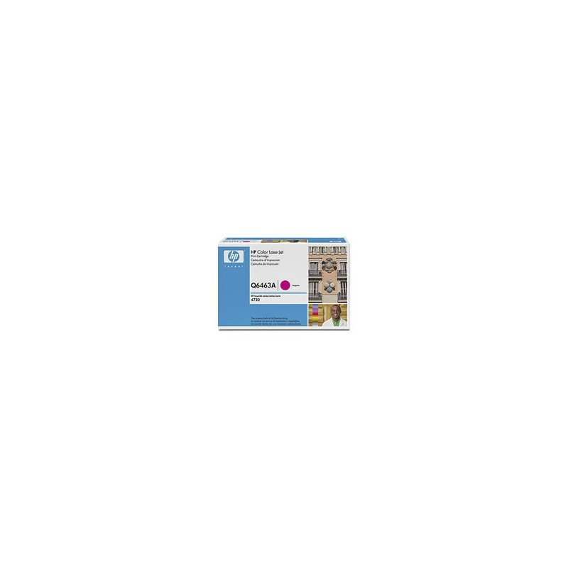 HP Toner Q6463A magenta - originál