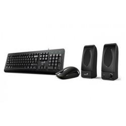 GENIUS KMS U130/ Kancelářský set klávesnice, myš a reproduktory 31280005403