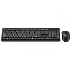 GENIUS Slimstar 8008/ Bezdrátový set 2,4GHz mini receiver/ USB/ černá/ CZ+SK layout 31340001403