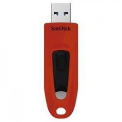 SanDisk Ultra USB 3.0 32 GB červená SDCZ48-032G-U46R