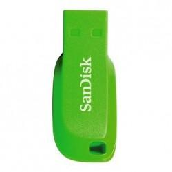SanDisk FlashPen-Cruzer™ Blade 16 GB elektricky zelená SDCZ50C-016G-B35GE