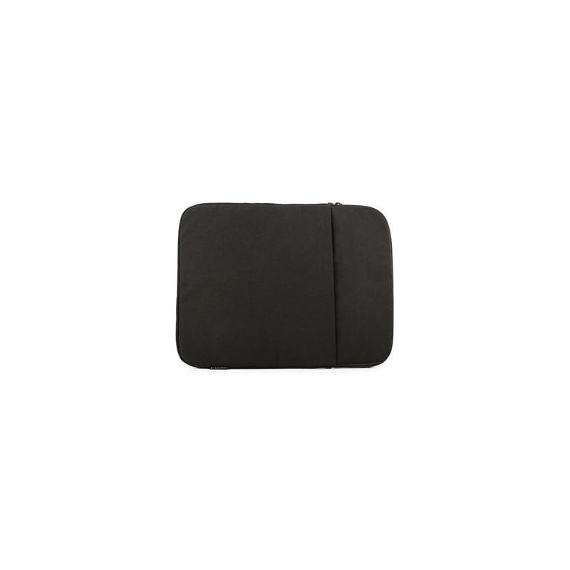 """Modecom Logic obal PLUSH na notebooky do velikosti 15,6"""", 2 kapsy, černá FUT-LC-PLUSH-15-BLA"""