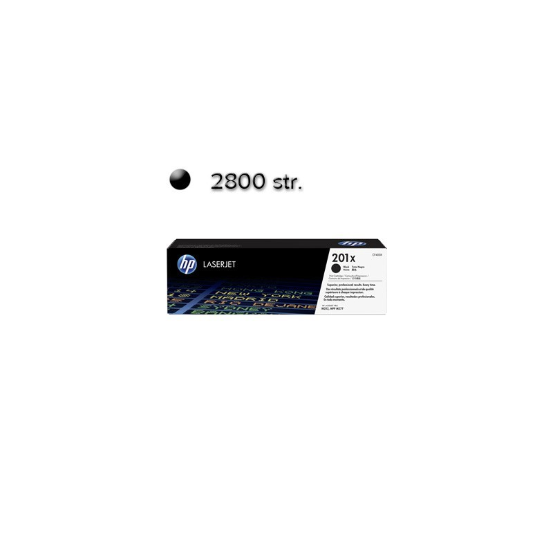 HP Toner CF400X black