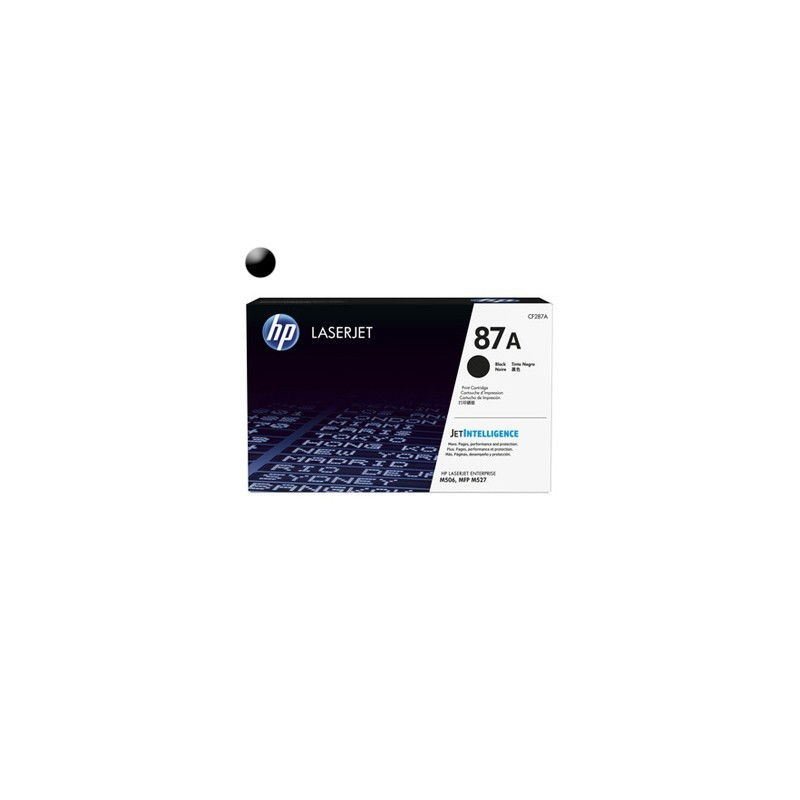 HP Toner CF287A black