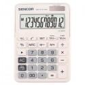 Kalkulačky, Databanky Kalkulačka Sencor, SEC 372T/WE, biela, stolná, dvanásťmiestna