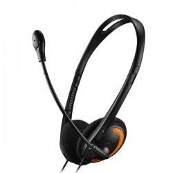 Canyon CNS-CHS01BO, PC Headset, 2 x 3,5mm mini-jack, slúchadla s...