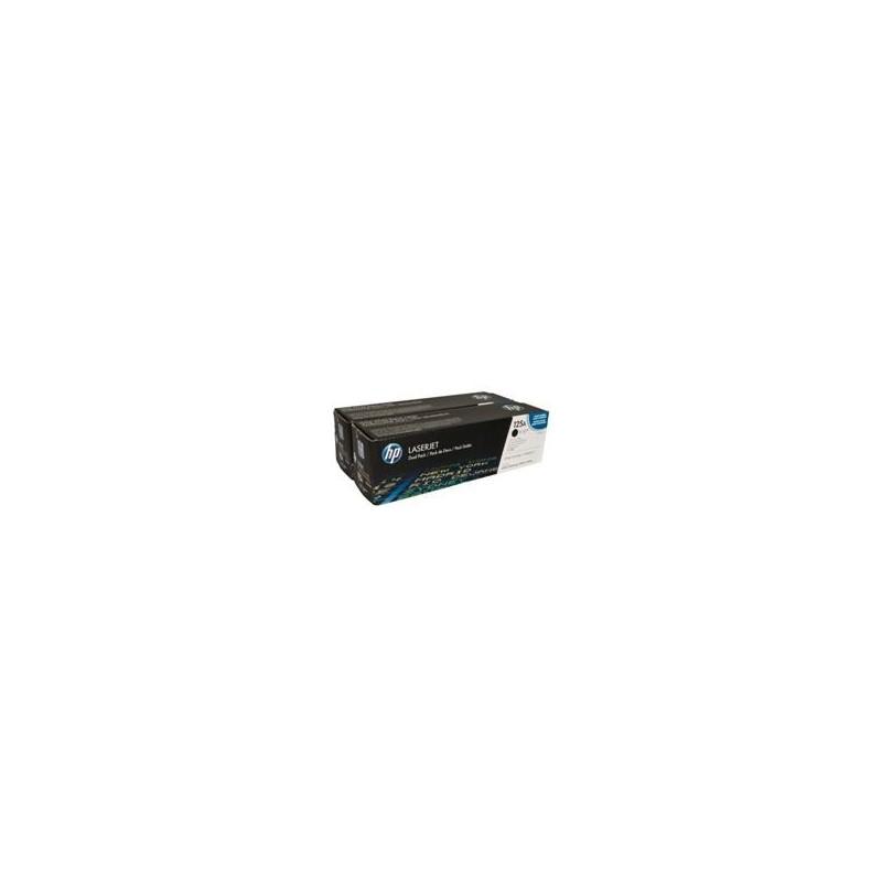 HP Toner CB540AD black Dual Pack