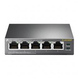 TP-Link Switch 5-Port/1000Mbps/Desk/PoE TL-SG1005P