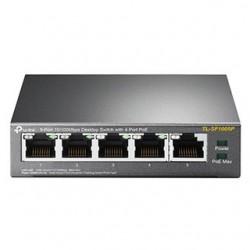 TP-Link Switch 5-Port/100Mbps/Desk/PoE TL-SF1005P