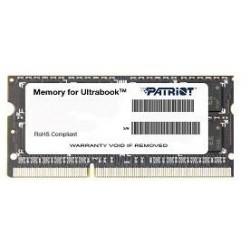 Patriot 4GB Ultrabook Line 1333MHz DDR3 CL9 SODIMM 1.35V, pre Ultrabooky PSD34G1333L81S