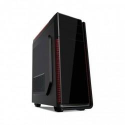 Grmbird ATX gaming PC case, midi-tower, black, 'Neptun' CCC-GJ-12-BK