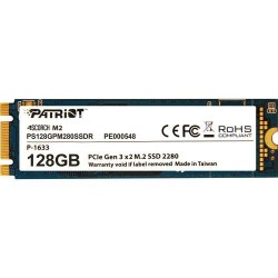 Patriot SSD Scorch M.2 PCIe 128GB Read/Write (1700/415Mb/s) PS128GPM280SSDR