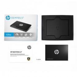 HP SSD M700 120GB 2.5' SATA3 6GB/s, 500/460 MB/s, MLC