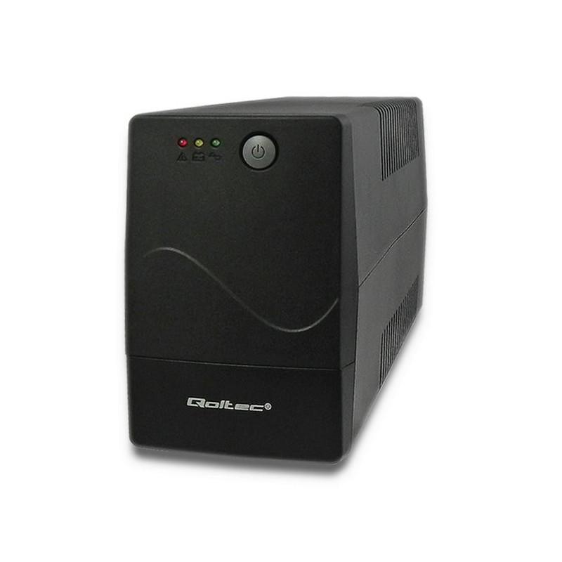 Qoltec UPS MONOLITH 650VA | 360W 53970