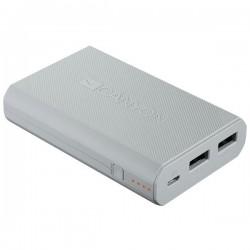 Canyon CNE-CPBF78W Powerbank 7800mAh, Li-Ion, dual USB 5V/2A, pre smartfóny, tablety, biela