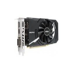 MSI GeForce GTX 1050 AERO ITX 2G OCV1, 2gb, DisplayPort, HDMI, DL-DVI-D