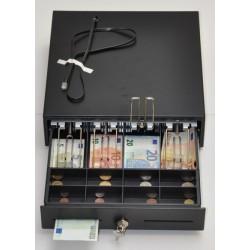 Peňažná zásuvka MK-330 4B/8M čierna