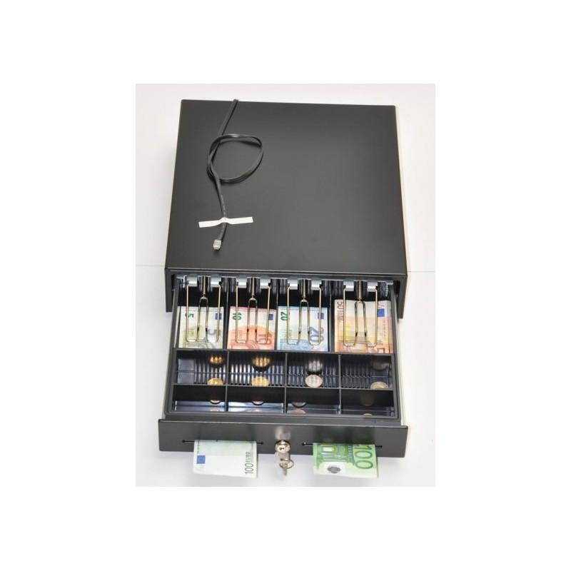 Peňažná zásuvka MK-350 4B/8M čierna