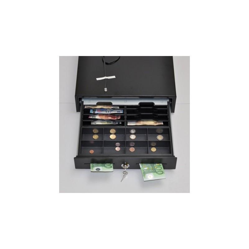 Peňažná zásuvka K-VK4102 8B/8M čierna