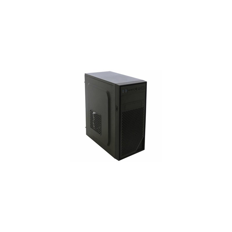 EUROCASE PC skrinka MIDI X404 čierna MLX404B00