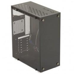 EUROCASE PC skrinka MIDI X405 čierna MLX405B00