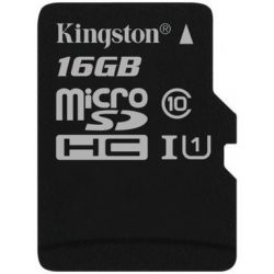 KINGSTON Micro SDHC 16GB UHS-I SDCS/16GBSP