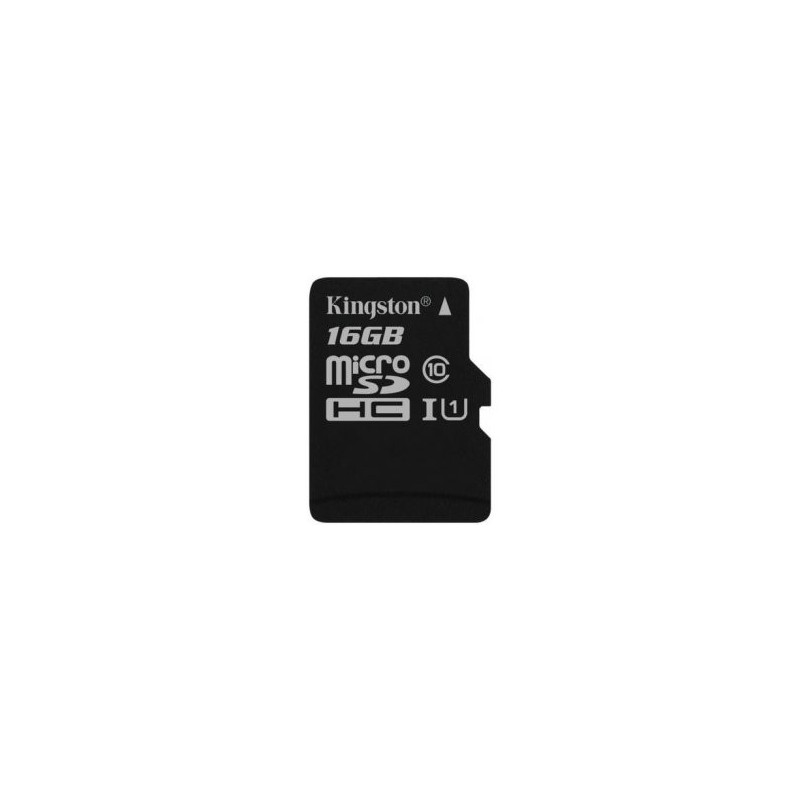 KINGSTON Micro SDHC 16GB UHS-I SDCS/16GBSP