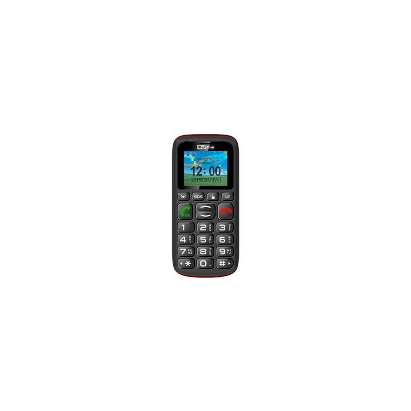 MAXCOM Telefón pre seniorov MM428BB čierny