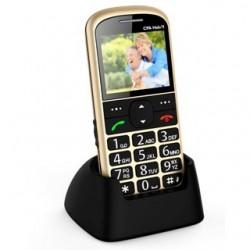 MYPHONE Telefón pre seniorov HALO 11 zlatý TELMY1011GO