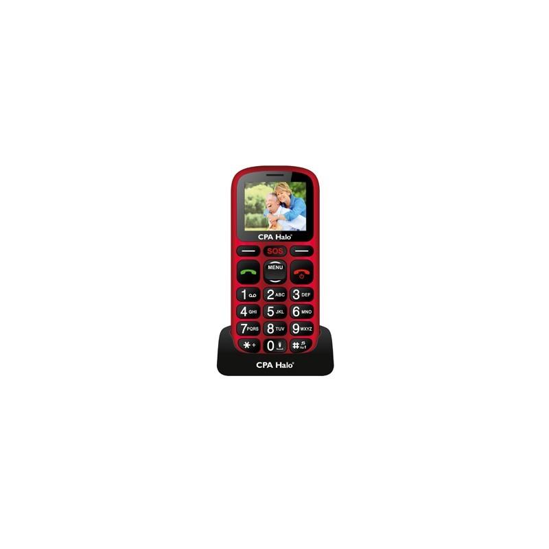 MYPHONE Telefón pre seniorov HALO 16 červený TELMY1016RE