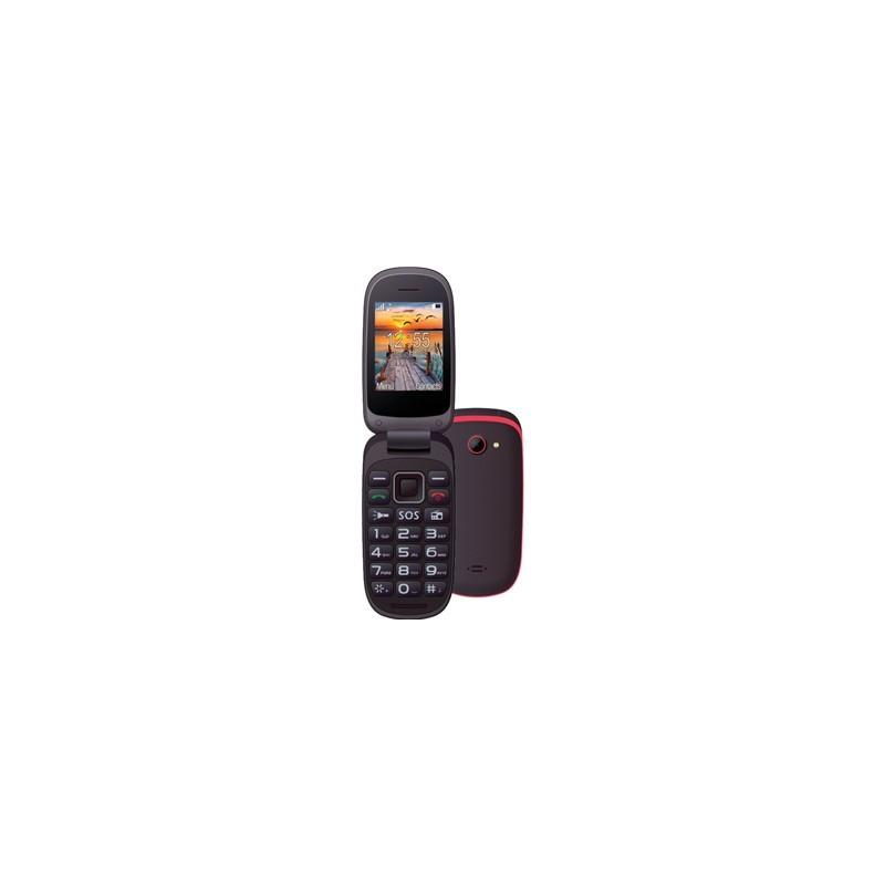 MAXCOM Comfort MM818 čierna/červená