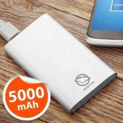 MANTA Powerbanka 5 000 mAh MPB950S sil
