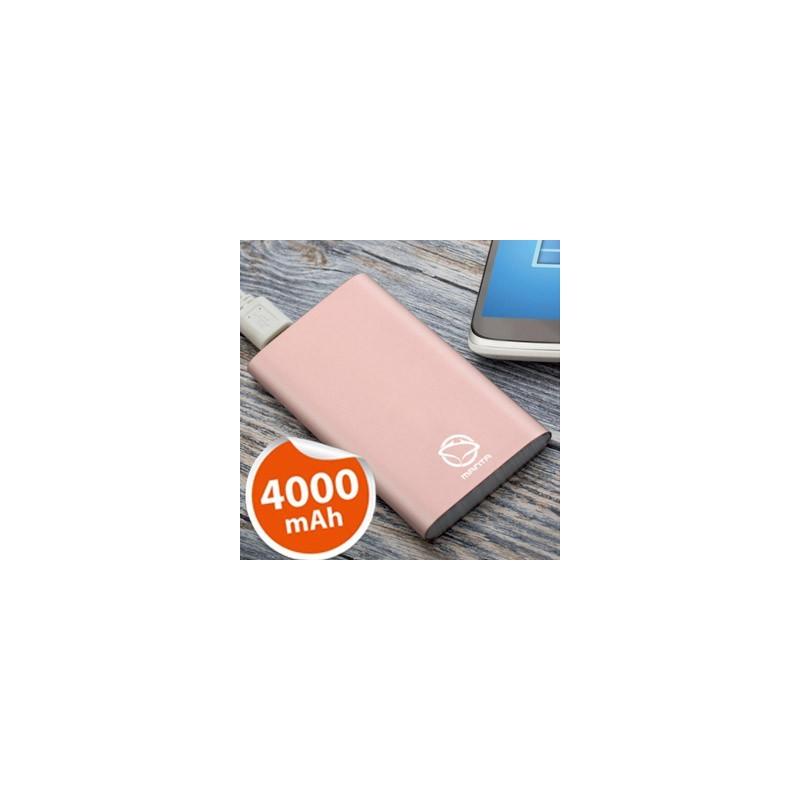 MANTA Powerbanka 4 000 mAh MPB940RG rose