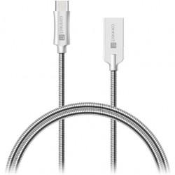 CONNECT IT Wirez Steel Knight USB Type-C/USB-A sil CCA-5010-SL