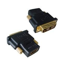 Redukcia z DVI male na HDMI female pozlat. konekt. A-HDMI-DVI-2