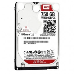 "WD Int. Disk RED 750GB 2,5"" SATAIII 16MB 9,5mm WD7500BFCX"