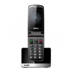 MAXCOM Telefón pre seniorov MM822BBCZ čierny
