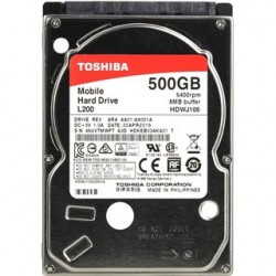 """TOSHIBA L200 500GB/2,5""""/8MB/9,5mm HDWJ105UZSVA"""