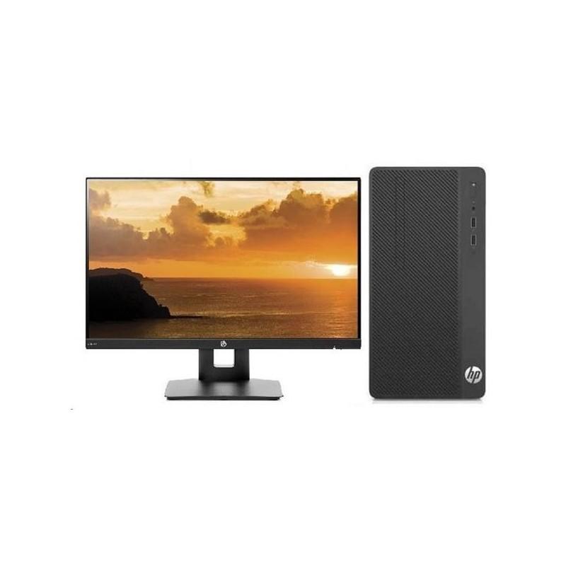 HP 290 G1 MT, Pentium G4560, Intel HD, 4 GB, 500 GB, DVDRW, FDOS, 1y + monitor VH240a 3EC11EA#BCM